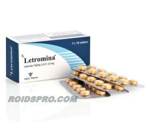 Letromina for sale (Femara 2.5 mg x 30 tabs) Alpha Pharma Healthcare