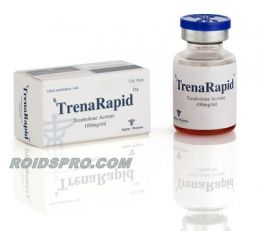 TrenaRapid for sale | Trenbolone Acetate 100mg per ml x 10ml vial | Alpha Pharma