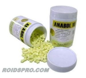 Anabol 10 for sale | Methandienone 10 mg x 500 tablets | British Dispensary