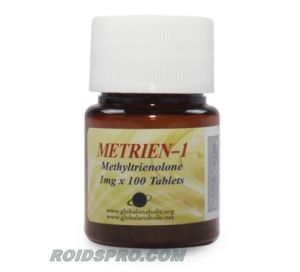 Metrien-1 for sale | Metribolone 1 mg x 100 tablets | Global Anabolic