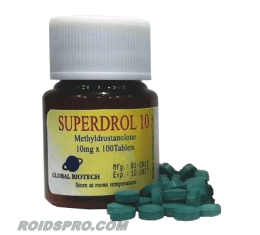 Superdrol 10 for sale | Methasterone 10 mg x 100 tablets | Global Anabolics