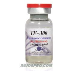 TE-300 for sale | Testosterone Enanthate 300 mg/ml x 10ml Vial | Global Anabolic