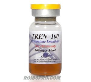 Tren-100 for sale | Trenbolone Enanthate 100 mg per ml x 10ml Vial | Global Anabolic
