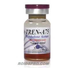 Tren-A75 for sale | Trenbolone Acetate 75mg/ml x 10ml Vial | Global Anabolic