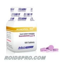 Anadrol 50 for sale | Oxymetholone 50 mg x 100 tablets | Meditech