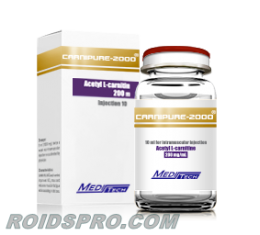 Carnipure-2000 for sale | Acetyl L-Carnitine 200mg/ml x 10ml Vial | Meditech
