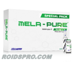 Mela-Pure for sale | Melatonan 2 Peptide 10 mg/vial x 3 Vials | Meditech