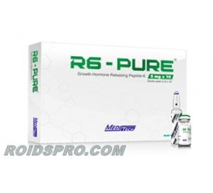 R6-Pure for sale | GHRP-6 Peptide 5mg/vial x 10 Vials | Meditech