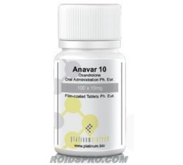 Anavar 10 for sale | Oxandrolone 10 mg x 100 tablets | Platinum Biotech