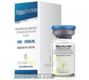Mast-Ext 200 for sale | Drostanolone Enanthate 200 mg x 10 ml Vial | Platinum Biotech