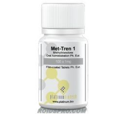 Met-Tren 1 for sale | Metribolone 1 mg x 30 tablets | Platinum Biotech