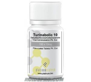 Turinabolic 10 for sale | Turinabol 10 mg x 100 tablets | Platinum Biotech
