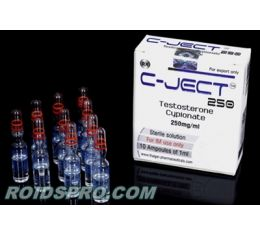 C-Ject 250 for sale | Testosterone Cypionate 250mg x 10 ampoules  | Thaiger Pharma